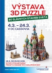 Výstava 3D puzzle - Košice - 2017
