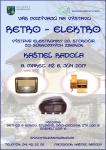 Výstava Retro - elektro v Kaštieli Radoľa - Radolľa - 2017