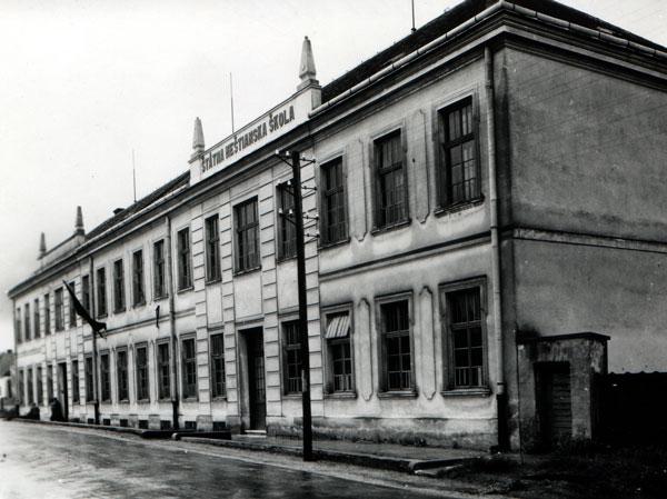 Skalica - historické foto