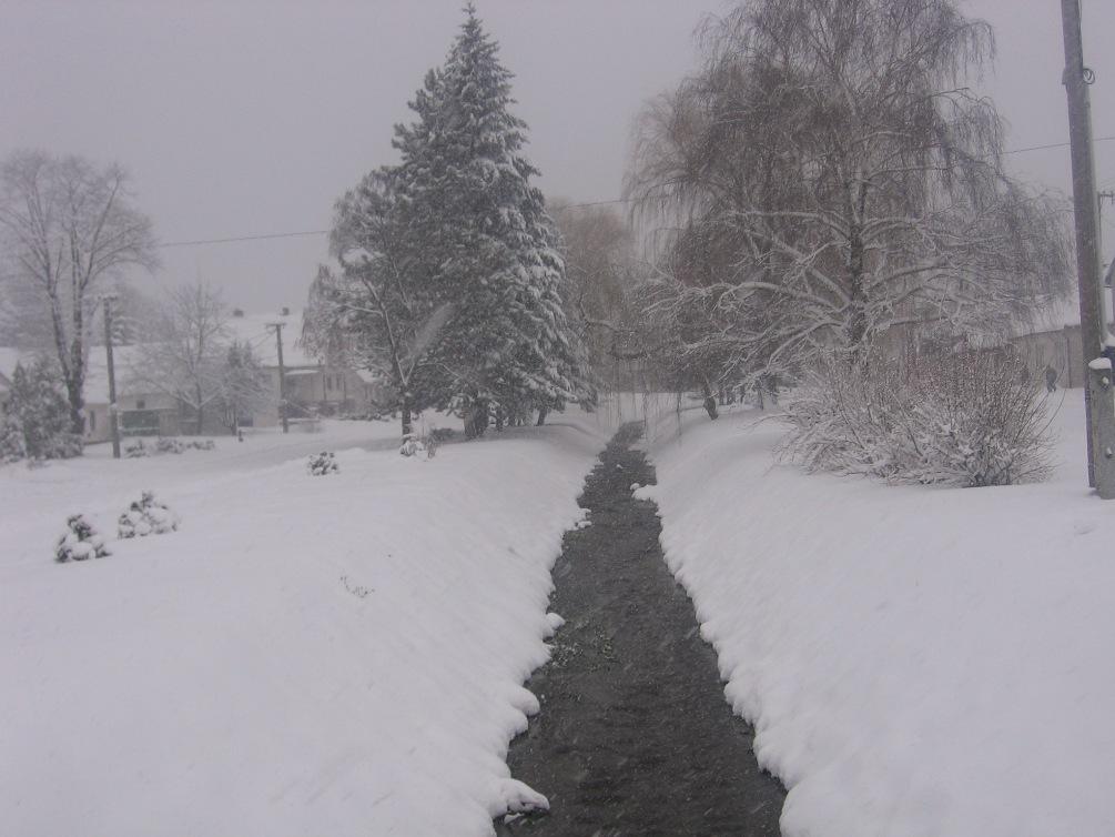 Zimný Sološnický potok