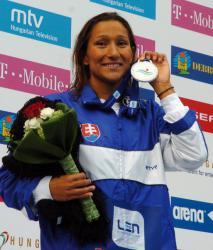 Martina Moravcová - majsterka sveta v plávaní, počtom úspechov patrí aj medzi najúspešnejšie plavkyne svetovej histórie