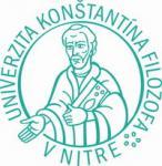 Univerzita Konštantína Filozofa v Nitre logo