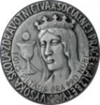 Vysoká škola zdravotníctva a sociálnej práce sv. Alžbety v Bratislave logo