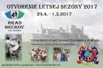 Otvorenie letnej sezóny na hrade Beckov - 2017