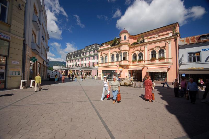 Centrum mesta Ružomberok