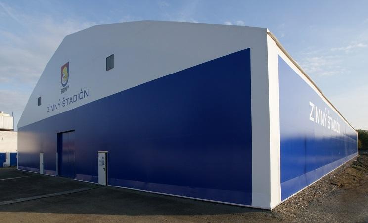 Sabinov - novovybudovaný zimný štadión