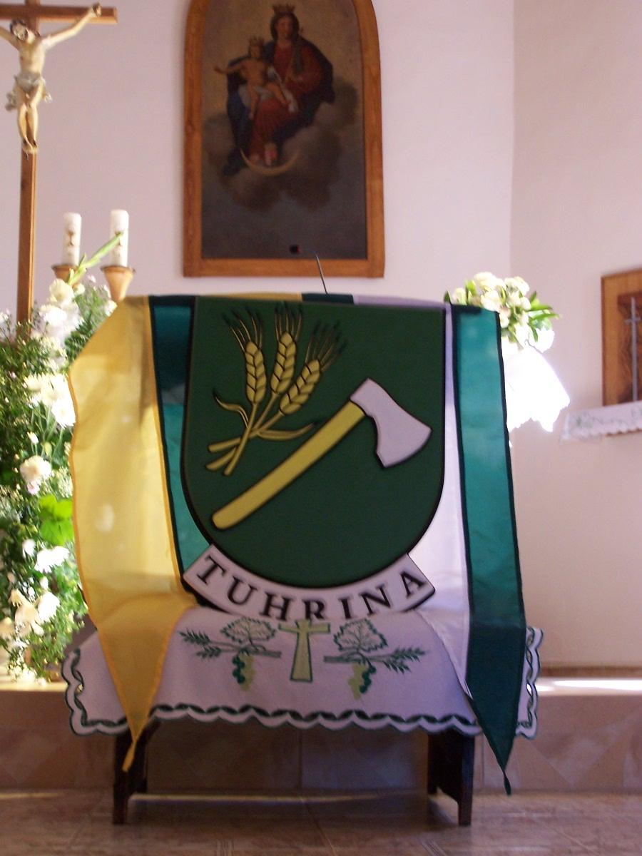 Erb obce Tuhrina