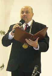 MUDr. Viliam Cíbik, PhD. - starosta obce Pruské