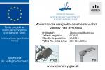 ZBOROV NAD BYSTRICOU - Modernizácia verejného osvetlenia v obci