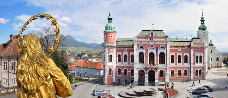 Mestský úrad Ružomberok - panorama