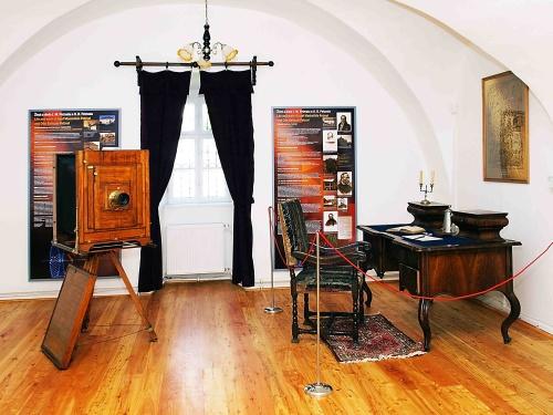 Múzeum J.M.Petzval-interiér