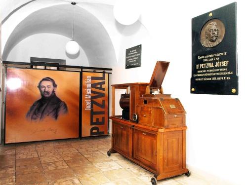Múzeum J.M.Petzval-interiér 3