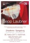 Sepp Laubner: Zrkadlenie / Spiegelung - Trnava - 2017
