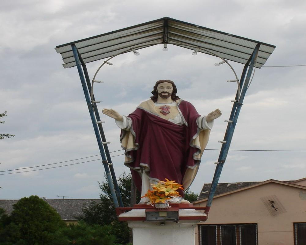 socha Božského Srdca