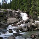 Vodopád vo Vysokých Tatrách