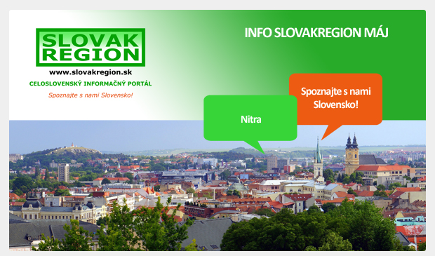 INFO SLOVAKREGION Máj