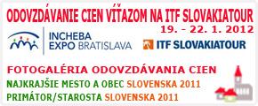 Odovzdávanie cien víťazom na ITF SLOVAKIATOUR