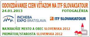 Odovzdávanie cien víťazom na ITF SLOVAKIATOUR 2013
