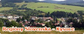 Regióny Slovenska - Kysuce