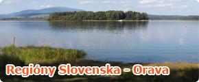 Regióny Slovenska - Orava