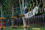 Lanový park Monkeyland