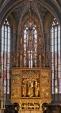 Svetovo najvyšší drevený gotický oltár (vysoký 18,6m), zhotovený bez jediného klinca. Autorom je známy stredoveký umelec, ktorého priezvisko vôbec nepoznáme, no celý svet mu hovorí : Majster Pavol z Levoče. V predele oltára je výjav Poslednej večere.