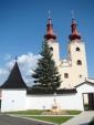 Divín 9 - barokový Kostol Všetkých svätých