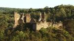Divín 4 - zrúcaniny hradu