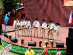 gajdošská folklórna skupina Dominika Garaja na Stretnutí Lehôt