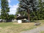 Lietadlo MIG 15 - pamiatka na boje v septembri 1944