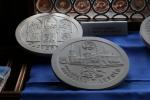 Pamätná minca - vydaná 05/2017 pri príležitosti 500. výročia dokončenia hl. oltára Majstra Pavla. (1517-2017) Autor víťazného návrhu : p. Pavel Károly
