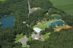letecký záber Sninské rybníky (autor J. Rovňák)