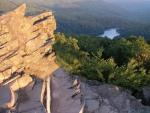 Morské oko - pohľad zo Sninského kameňa