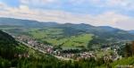 Nová Bystrica - pohľad z kopca