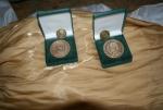 Veľké Chlievany - Pamätné medaily