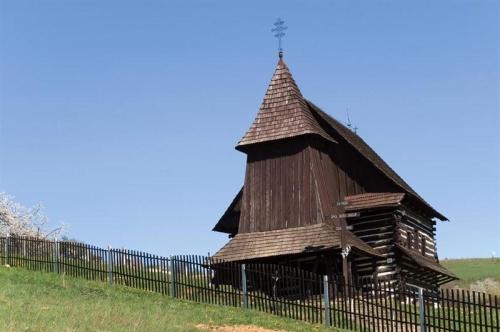Drevený kostol Brežany