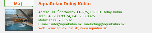www.aquakubin.sk/