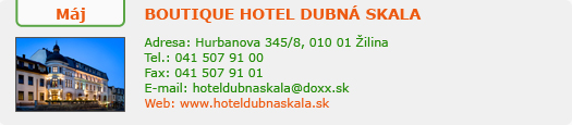 http://www.hoteldubnaskala.sk/