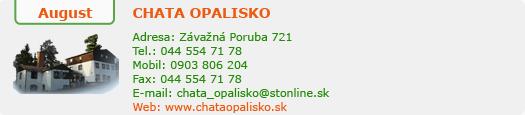 http://www.chataopalisko.sk