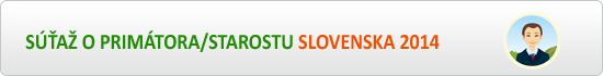 Primátor/Starosta Slovenska 2014