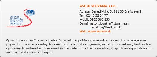ASTOR SLOVAKIA s.r.o.