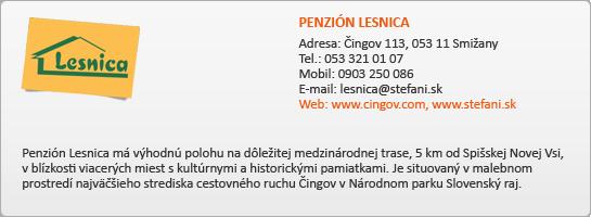 PENZIÓN LESNICA
