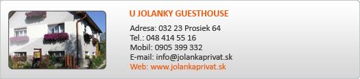 U JOLANKY GUESTHOUSE