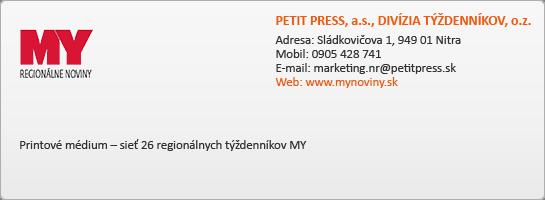 PETIT PRESS, a.s., DIVÍZIA TÝŽDENNÍKOV, o.z.