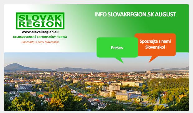 INFO SLOVAKREGION.SK AUGUST