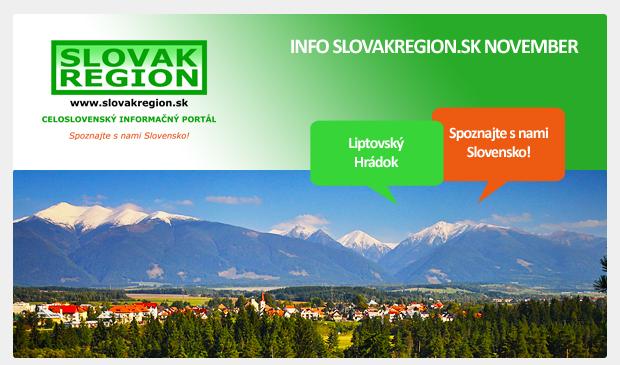 INFO SLOVAKREGION.SK NOVEMBER