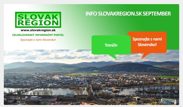 INFO SLOVAKREGION.SK SEPTEMBER