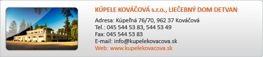 KÚPELE KOVÁČOVÁ