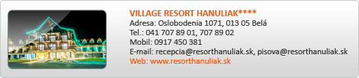 VILLAGE RESORT HANULIAK****