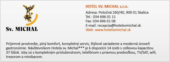 HOTEL SV. MICHAL s.r.o.